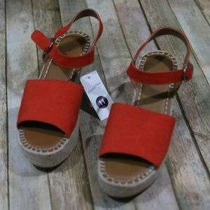 Universal Thread Morgan Two Piece Espadrille Shoes